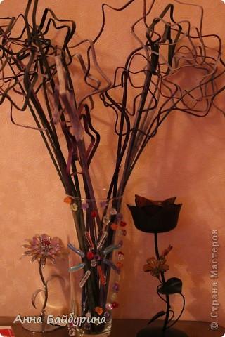 """Ваза """"Маки"""". Прямой декупаж. Использованы салфетки, ваза оранжевого цвета была покрашена в белый перед декупажем, клей ПВА, акриловый лак, лак-спрей, акриловые краски, контур по стеклу, яичное кракле. фото 3"""