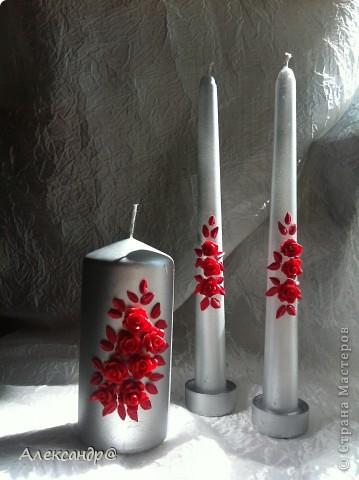 Доброго всем времени суток,это мои первые свечи,есть обидные погрешности,но  мне  все равно нравится. фото 1