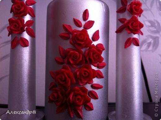Доброго всем времени суток,это мои первые свечи,есть обидные погрешности,но  мне  все равно нравится. фото 4