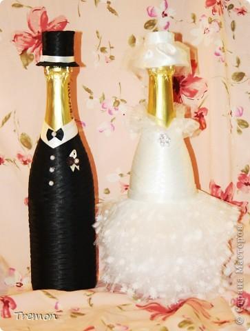Благодаря мастерам Страны Мастеров родились мои свадебные первенцы. фото 2