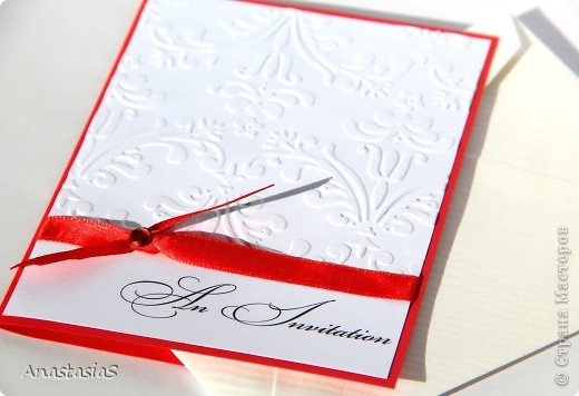 Фото приглашение на свадьбу своими руками