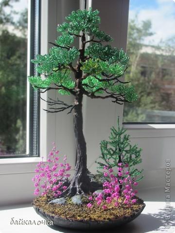 Бисерные деревья фото 1