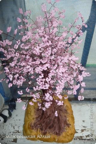 Дерево из бисера. фото 1
