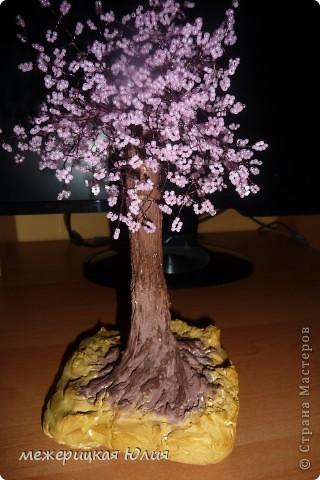 Дерево из бисера. фото 2