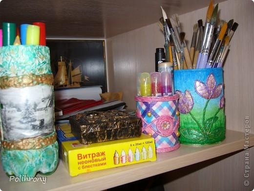 Добрый день, Страна!    Все-таки не удержалась и раскрасила в зеленый еще несколько вещиц.  Теперь в моей кухонной коллекции 8 предметов  ( http://stranamasterov.ru/node/400556 ). фото 14