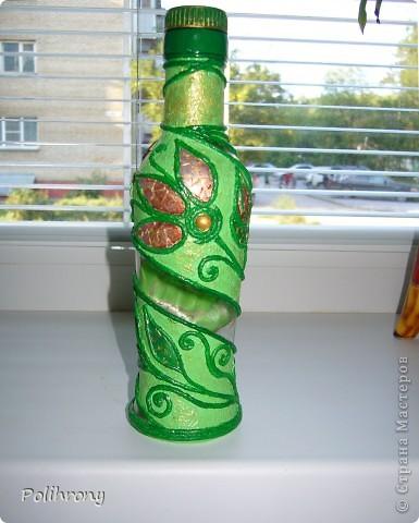 Добрый день, Страна!    Все-таки не удержалась и раскрасила в зеленый еще несколько вещиц.  Теперь в моей кухонной коллекции 8 предметов  ( http://stranamasterov.ru/node/400556 ). фото 2