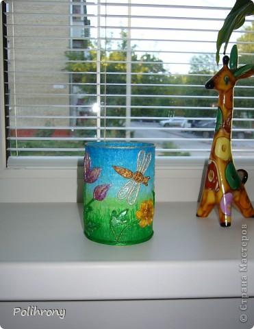 Добрый день, Страна!    Все-таки не удержалась и раскрасила в зеленый еще несколько вещиц.  Теперь в моей кухонной коллекции 8 предметов  ( http://stranamasterov.ru/node/400556 ). фото 10