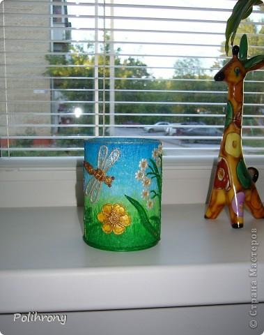 Добрый день, Страна!    Все-таки не удержалась и раскрасила в зеленый еще несколько вещиц.  Теперь в моей кухонной коллекции 8 предметов  ( http://stranamasterov.ru/node/400556 ). фото 11