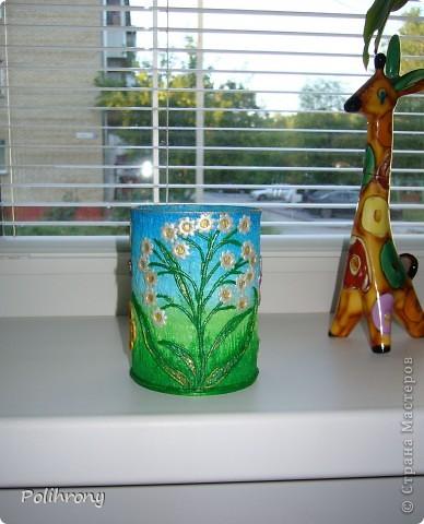 Добрый день, Страна!    Все-таки не удержалась и раскрасила в зеленый еще несколько вещиц.  Теперь в моей кухонной коллекции 8 предметов  ( http://stranamasterov.ru/node/400556 ). фото 12