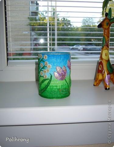 Добрый день, Страна!    Все-таки не удержалась и раскрасила в зеленый еще несколько вещиц.  Теперь в моей кухонной коллекции 8 предметов  ( http://stranamasterov.ru/node/400556 ). фото 13