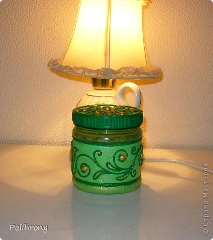 Добрый день, Страна!    Все-таки не удержалась и раскрасила в зеленый еще несколько вещиц.  Теперь в моей кухонной коллекции 8 предметов  ( http://stranamasterov.ru/node/400556 ). фото 7