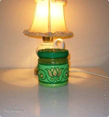 Добрый день, Страна!    Все-таки не удержалась и раскрасила в зеленый еще несколько вещиц.  Теперь в моей кухонной коллекции 8 предметов  ( http://stranamasterov.ru/node/400556 ). фото 6