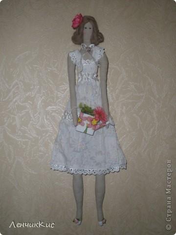 Тильда-фея цветов фото 2
