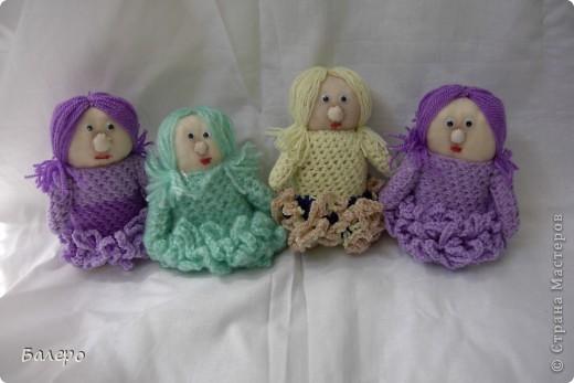 Добрый Вечер ВСЕМ!!! Хочу показать куколки которые делает моя мама, Ольга Борисовна! они конечно не такие красивые,) как здесь делают, но по своему интересные, очень нравятся детям!!!!! ХОРОШЕГО ПРОСМОТРА)))  фото 2
