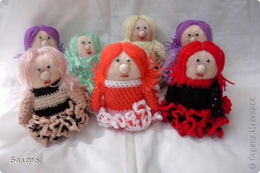 Добрый Вечер ВСЕМ!!! Хочу показать куколки которые делает моя мама, Ольга Борисовна! они конечно не такие красивые,) как здесь делают, но по своему интересные, очень нравятся детям!!!!! ХОРОШЕГО ПРОСМОТРА)))  фото 3