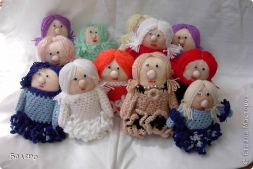 Добрый Вечер ВСЕМ!!! Хочу показать куколки которые делает моя мама, Ольга Борисовна! они конечно не такие красивые,) как здесь делают, но по своему интересные, очень нравятся детям!!!!! ХОРОШЕГО ПРОСМОТРА)))  фото 4