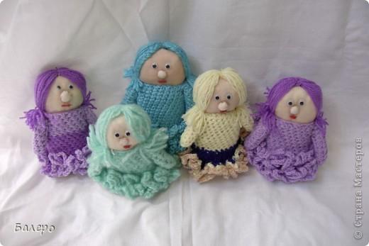 Добрый Вечер ВСЕМ!!! Хочу показать куколки которые делает моя мама, Ольга Борисовна! они конечно не такие красивые,) как здесь делают, но по своему интересные, очень нравятся детям!!!!! ХОРОШЕГО ПРОСМОТРА)))  фото 5