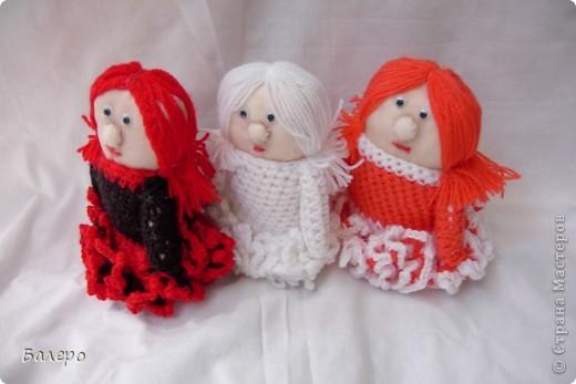 Добрый Вечер ВСЕМ!!! Хочу показать куколки которые делает моя мама, Ольга Борисовна! они конечно не такие красивые,) как здесь делают, но по своему интересные, очень нравятся детям!!!!! ХОРОШЕГО ПРОСМОТРА)))  фото 12