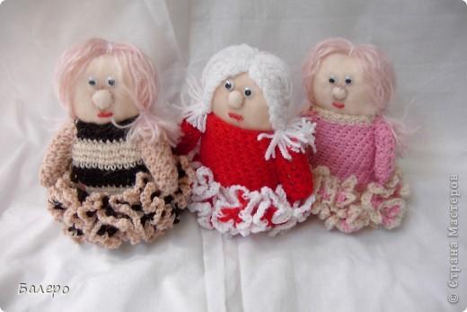 Добрый Вечер ВСЕМ!!! Хочу показать куколки которые делает моя мама, Ольга Борисовна! они конечно не такие красивые,) как здесь делают, но по своему интересные, очень нравятся детям!!!!! ХОРОШЕГО ПРОСМОТРА)))  фото 6