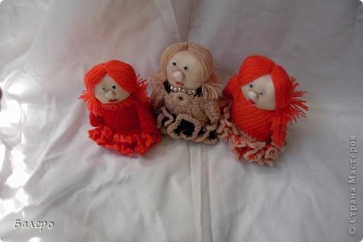 Добрый Вечер ВСЕМ!!! Хочу показать куколки которые делает моя мама, Ольга Борисовна! они конечно не такие красивые,) как здесь делают, но по своему интересные, очень нравятся детям!!!!! ХОРОШЕГО ПРОСМОТРА)))  фото 7