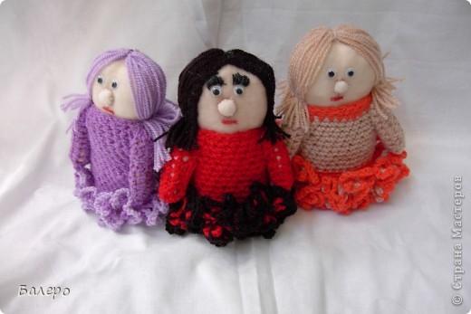 Добрый Вечер ВСЕМ!!! Хочу показать куколки которые делает моя мама, Ольга Борисовна! они конечно не такие красивые,) как здесь делают, но по своему интересные, очень нравятся детям!!!!! ХОРОШЕГО ПРОСМОТРА)))  фото 9