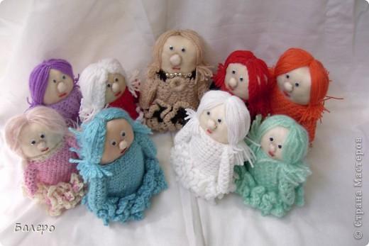 Добрый Вечер ВСЕМ!!! Хочу показать куколки которые делает моя мама, Ольга Борисовна! они конечно не такие красивые,) как здесь делают, но по своему интересные, очень нравятся детям!!!!! ХОРОШЕГО ПРОСМОТРА)))  фото 10