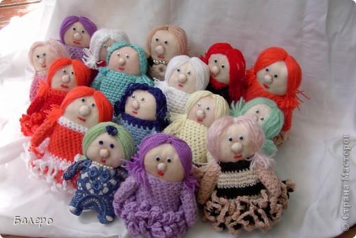 Добрый Вечер ВСЕМ!!! Хочу показать куколки которые делает моя мама, Ольга Борисовна! они конечно не такие красивые,) как здесь делают, но по своему интересные, очень нравятся детям!!!!! ХОРОШЕГО ПРОСМОТРА)))  фото 11