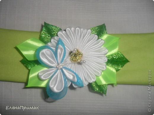 Повязка на голову в подарок для маленькой родственницы фото 1