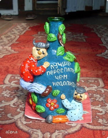 Бутылка с приколом.Сделана по просьбе. фото 1