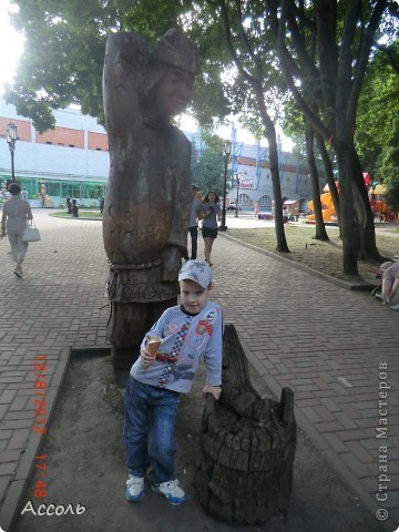 Сегодня мы всей нашей небольшой семьей выходили погулять в наш любимый парк Толстого. Предлагаю и Вам побродить по нашей местной городской достопримечательности))) фото 10