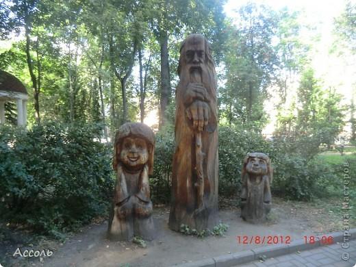 Сегодня мы всей нашей небольшой семьей выходили погулять в наш любимый парк Толстого. Предлагаю и Вам побродить по нашей местной городской достопримечательности))) фото 18
