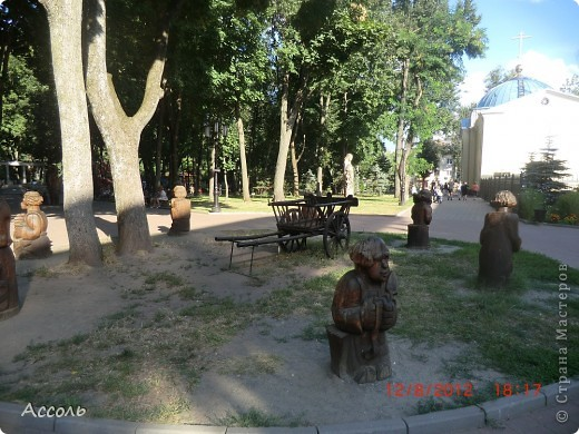 Сегодня мы всей нашей небольшой семьей выходили погулять в наш любимый парк Толстого. Предлагаю и Вам побродить по нашей местной городской достопримечательности))) фото 23