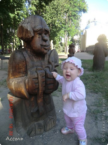 Сегодня мы всей нашей небольшой семьей выходили погулять в наш любимый парк Толстого. Предлагаю и Вам побродить по нашей местной городской достопримечательности))) фото 26