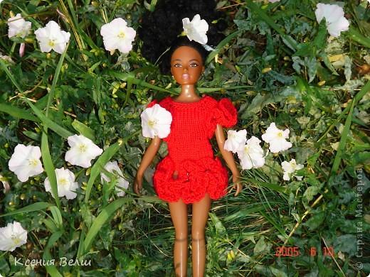 Здравствуйте! Насчет мебели у меня ничего нового нет, поэтому делаю фоторепортажи. Сегодня познакомлю вас с моей любимой (после Челси, конечно) куклой. Ее звать Калиста, везде сфотографирована в покупной одежде, пока на нее не нашила, но это не надолго))) фото 8