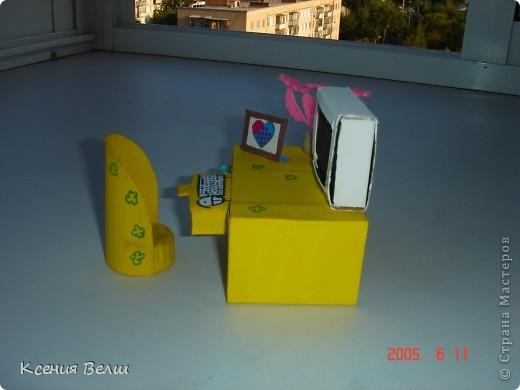 Сегодня доделался столик со стульчиком. Пока непонятно для какой куклы, но скоро этот персонаж, надеюсь, появится))) Вот сам столик: фото 5