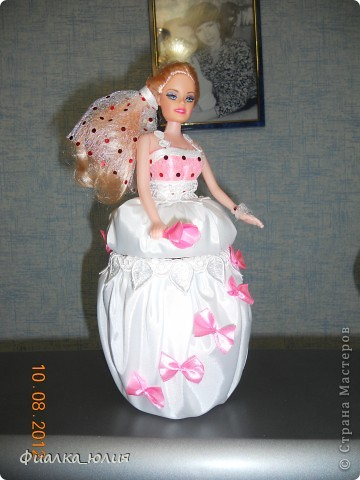 Кукла-шкатулка для племянницы фото 1