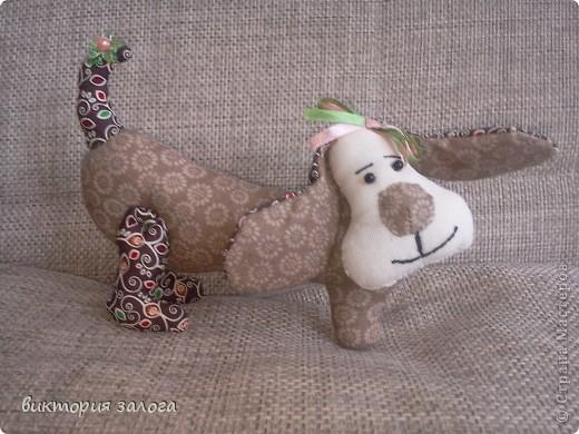 Текстильные зверюшки... фото 4