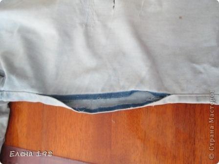 протертым джинсам можно подарить вторую жизнь.С такой проблемой приходит очень много людей и я стараюсь вернуть джиинсы моих клиентов к жизни.Очень надеюсь что мой МК кому-нибудь поможет   вот какая неприятность случилась с этими штанишками.Будем спасать фото 3