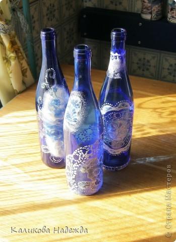В детстве , как многие девочки,  любила собирать разноцветные осколки стекла. Помню, в коробочке стекляшки разных  оттенков зеленого, коричневого цвета. И самые редкие стекляшки - синего и красного, ну не выпускались тогда бутылки такого цвета. Зато сейчас у меня их три штуки!!! фото 2