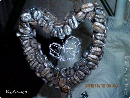 Сердечно-кофейный топиарий фото 8