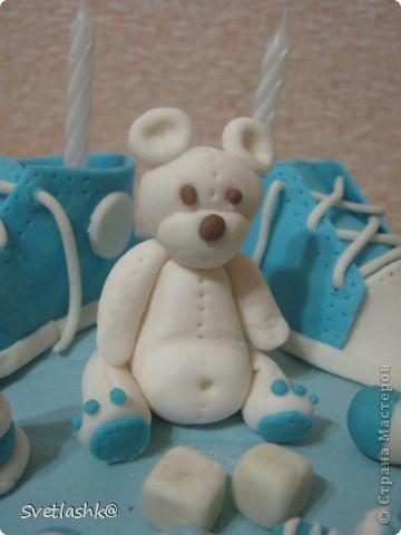 Вот такой тортик у нас родился на День рождения младшего сынули. Мама постаралась. фото 4