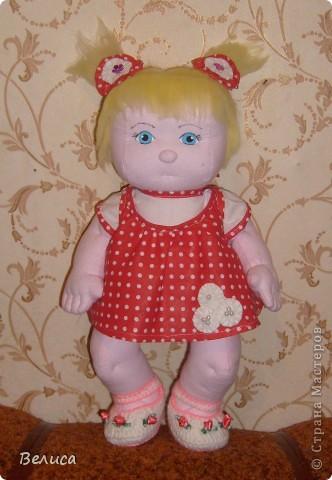 Кукла Сашенька фото 1