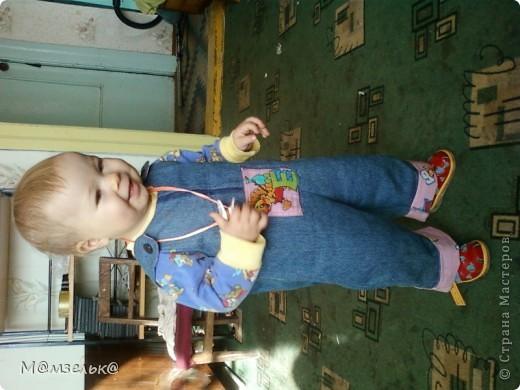 Вязанный сарафанчик для любимой доченьки в садик. фото 9