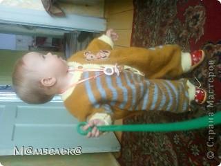 Вязанный сарафанчик для любимой доченьки в садик. фото 7