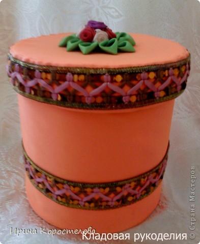 Такую коробочку для бижутерии я сделала любимой сестренке в подарок на 8 Марта фото 1