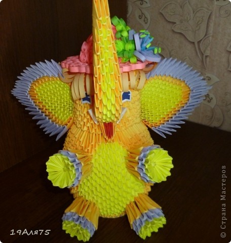 Мой слоник в новой шляпке. фото 1