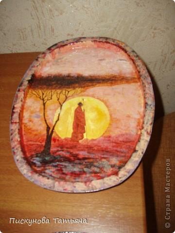 Вот такие тарелочки я сотворила из полюбившихся мне салфеток.... фото 4