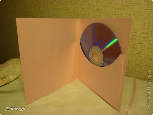 Конвертик-открытка для диска фото 1