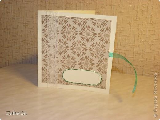 Конвертик-открытка для диска фото 6