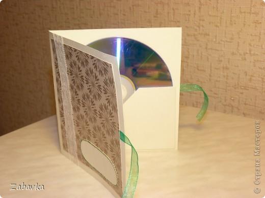 Конвертик-открытка для диска фото 7